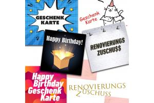Instant Gifting mit Geschenkkarten