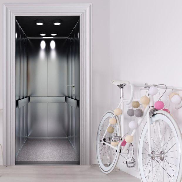 Türtapete - FAHRSTUHL AUFZUG Lift