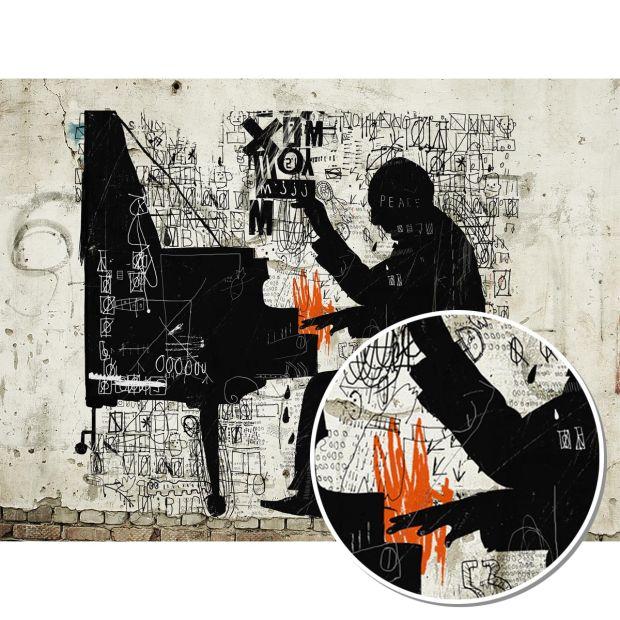Tapete - PIANOMAN