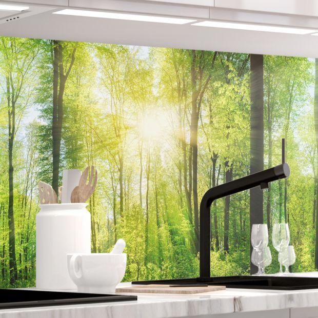 Küchenrückwand - WALD