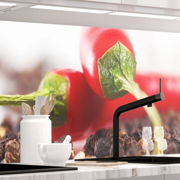 Küchenrückwand - HOT CHILI