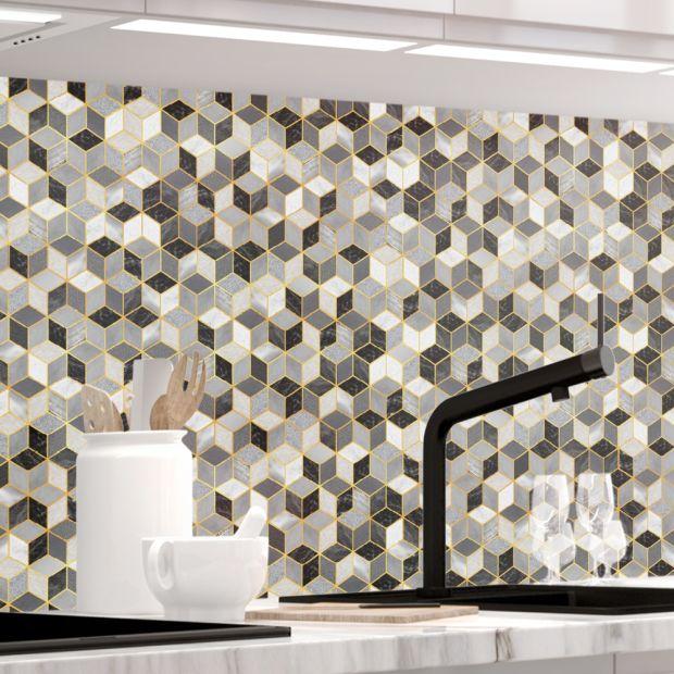 Küchenrückwand - DESIGN CUBES