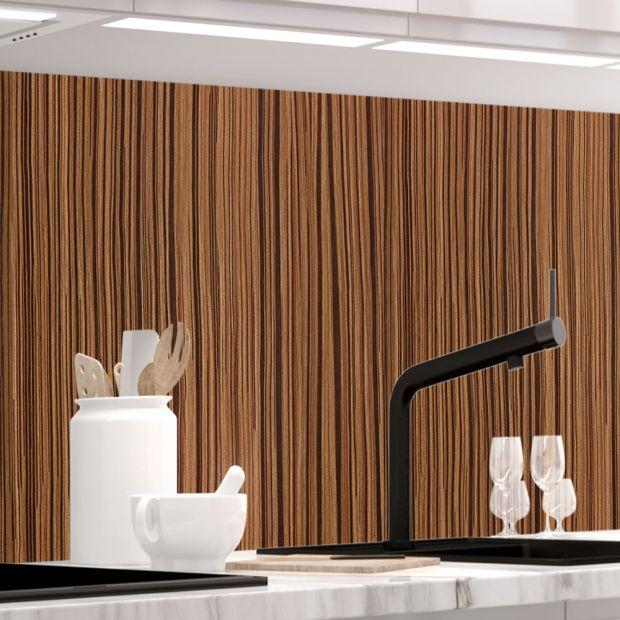 Küchenrückwand - MAKASSAR HOLZ