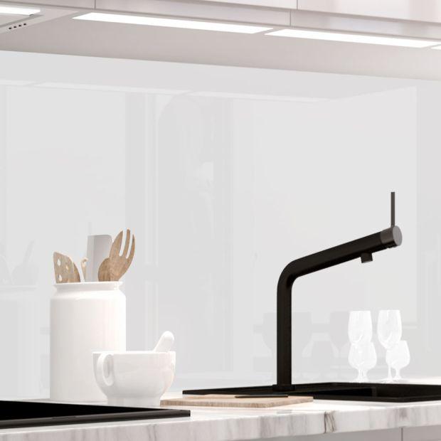 Küchenrückwand - WHITE HIGLOSS