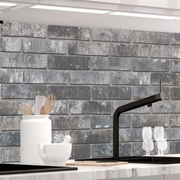 Küchenrückwand - LOFT BLACK