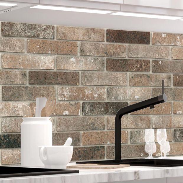 Küchenrückwand - LOFT BROWN