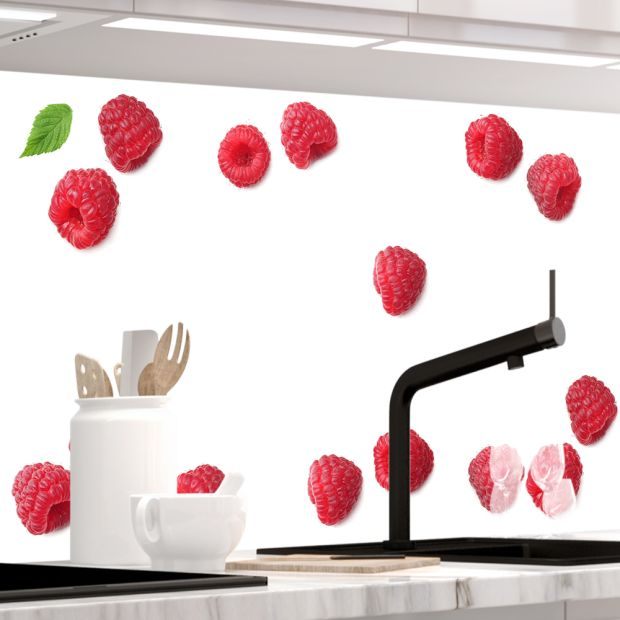 Küchenrückwand - HIMBEEREN