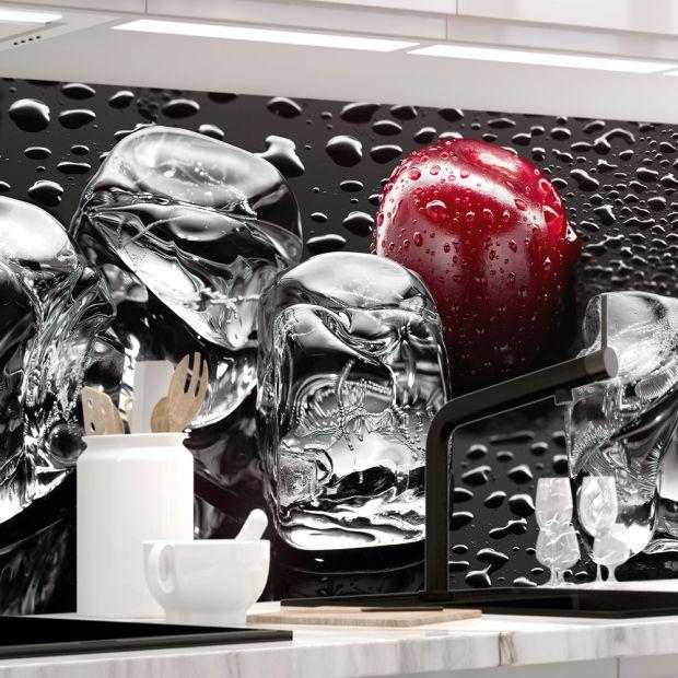 Küchenrückwand - KIRSCHEN UND EIS