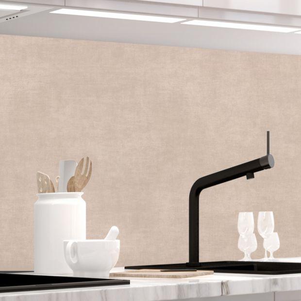 Küchenrückwand - TAUPE STRICH