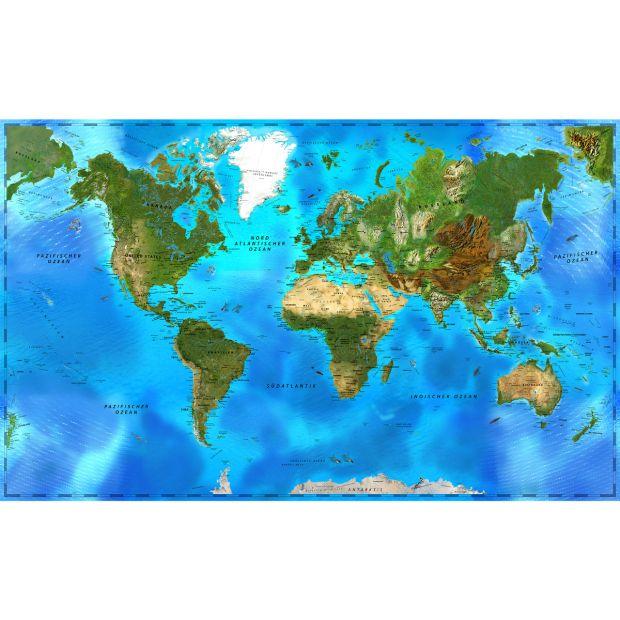 Weltkarte - NICE WORLD