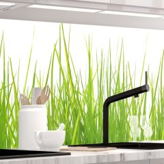 Küchenrückwand - WIESEN GRAS