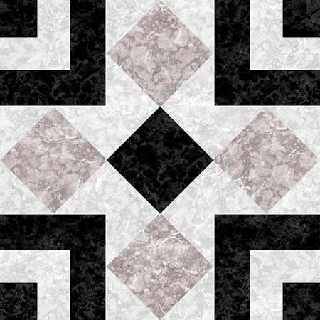 6 Fliesenaufkleber - Marmor - No.37
