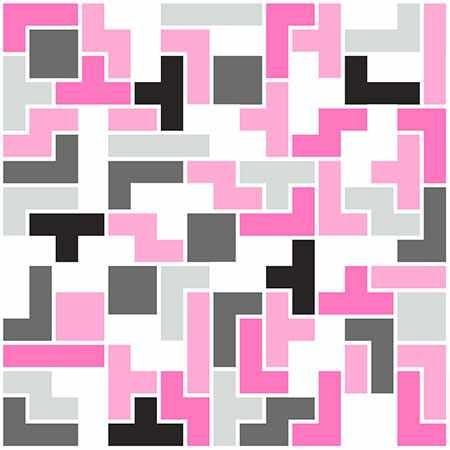 6 Fliesenaufkleber - Modern - No.54