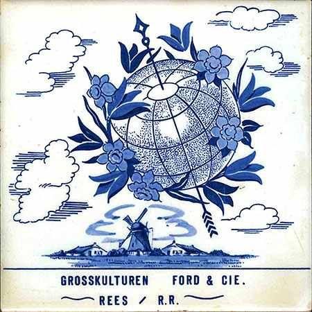 6 Fliesenaufkleber - Niederlande - No.56