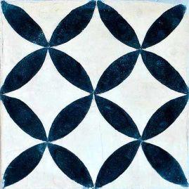6 Fliesenaufkleber - Portugiesisch - No.51