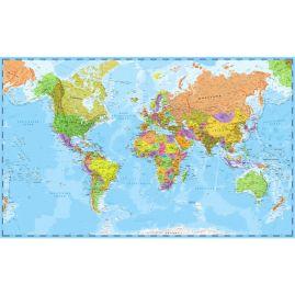 Weltkarte - SCHULKARTE