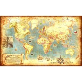 Weltkarte - PIRATEN
